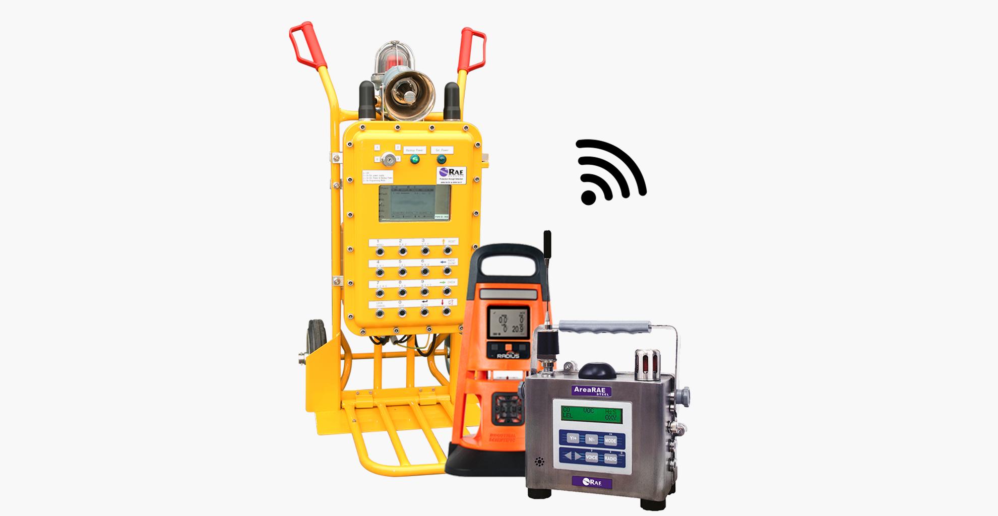 Wireless 7solutions - Vast opgestelde gas detectie   Draagbare gas detectie   Lekdetectie en Draadloze gas detectie